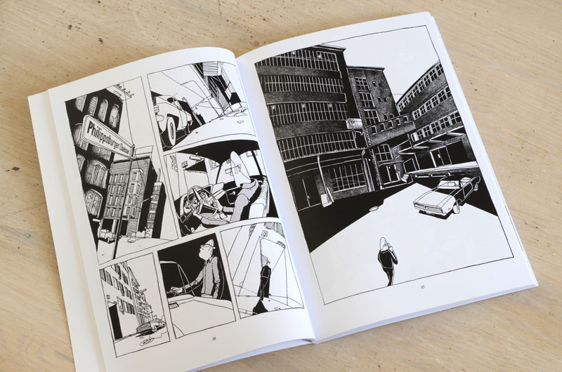 "Graphic-Novel ""Schefeld City Blues"" von Martin Karcher Innenseite 02"