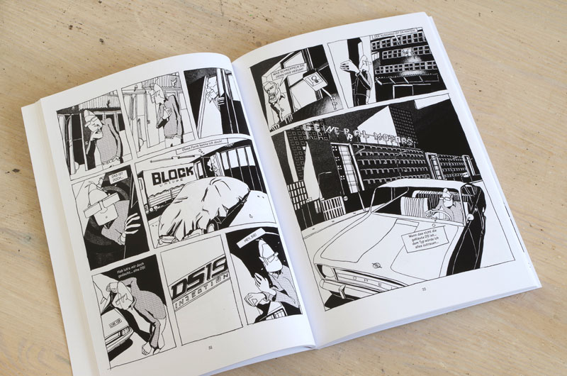 "Graphic-Novel ""Schefeld City Blues"" von Martin Karcher Innenseite 03"