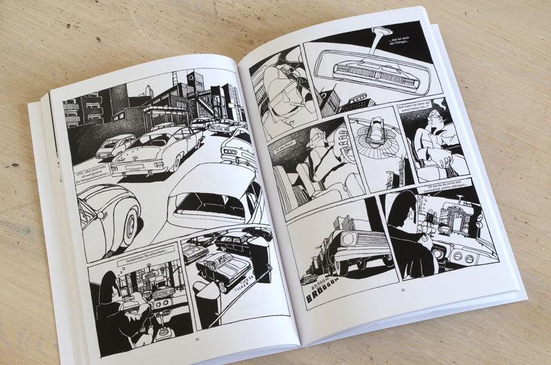 "Graphic-Novel ""Schefeld City Blues"" von Martin Karcher Innenseite 07"