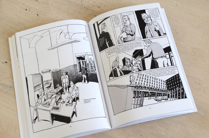 "Graphic-Novel ""Schefeld City Blues"" von Martin Karcher Innenseite 09"